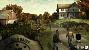 Скриншот из The Walking Dead: The Game