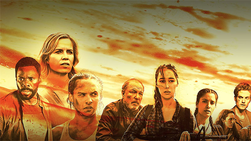 image Трейлер второй части 3 сезона «Бойтесь ходячих мертвецов»